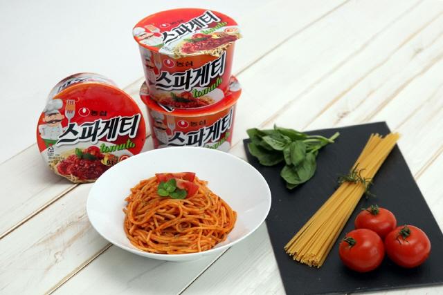 [솔직체험기 라이프까톡] 농심 '스파게티 토마토'