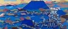 [조상인의 예(藝)-<71>전혁림 '통영항']코발트블루 빛 바다...하늘을 끌어놓은 듯 '정겨운 항구'