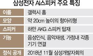 [삼성전자 첫 'AI스피커' 공개] 비밀무기 '갤럭시 홈' 깜짝 등장…AI스피커 판도 뒤흔드나