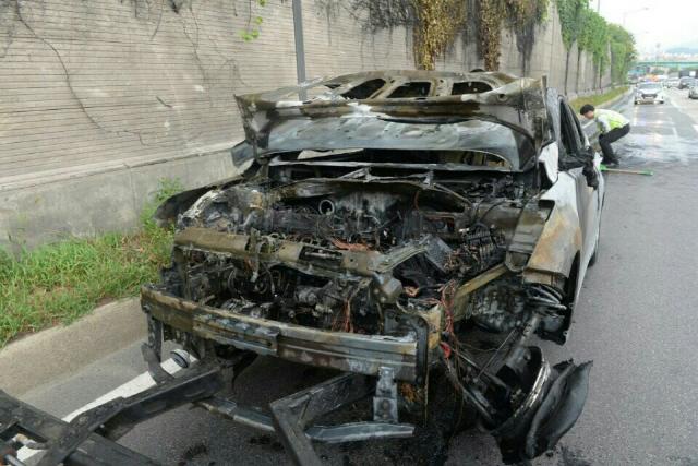 BMW 이어 현대차·르노삼성 등도 잇단 차량화재…폭염 탓?