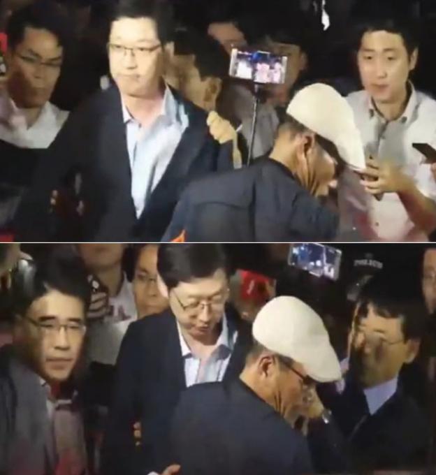 신동욱, 김경수 폭행 남성의 정체 밝힌 이재명에 '고소왕 이어 고자질왕'