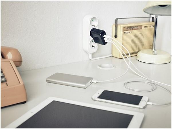 솔루엠, USB Type-C 완벽 호환 '키코 3 in 1 어댑터' 멀티충전기 신제품 출시