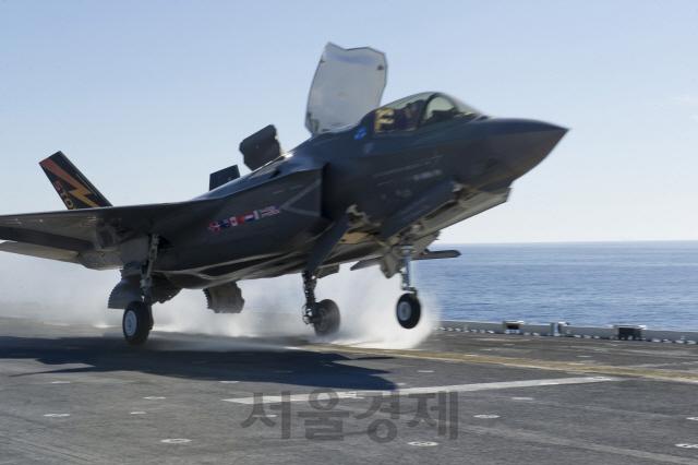 해군, 마라도함에 스텔스전투기 F-35B 탑재 검토