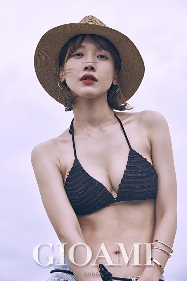 배그린 42kg→51kg, 박신혜 조언으로 건강미 넘쳐 ..파격 수영복 [화보]