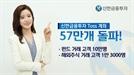 신한금융투자, Toss 제휴계좌 57만개 돌파