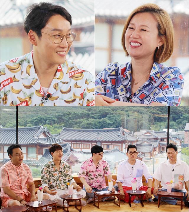 '해투' 이휘재의 '두 집 살림 소문'..박미선도 폭풍 걱정한 사연