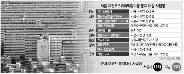 '재초환 폭탄' 공개에 긴장하는 강남