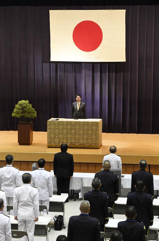 아베, 자위대 헌법 명문화 개헌의지 거듭 강조