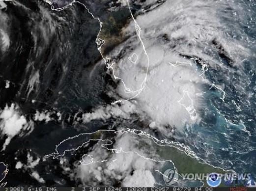'허리케인급 강풍 주의' 열대성 폭풍 '고든', 美 남동부 상륙…시속 100km 위력은?