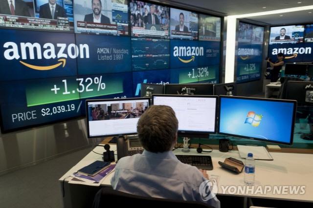아마존, 애플 이어 두번째 시가총액 1조 달러 돌파