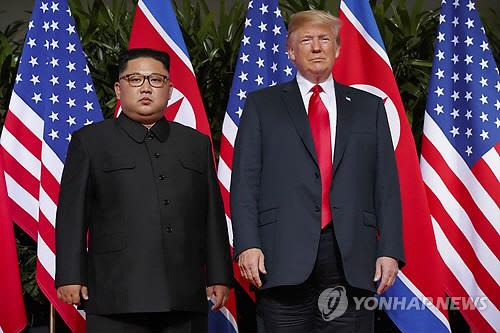 """트럼프, 김정은 '변함없는 신뢰' 표명에 """"우리는 함께 해낼 것"""""""