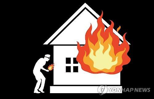 호기심에 아파트 내 불 지른 정신장애 20대, 300만원 재산 피해