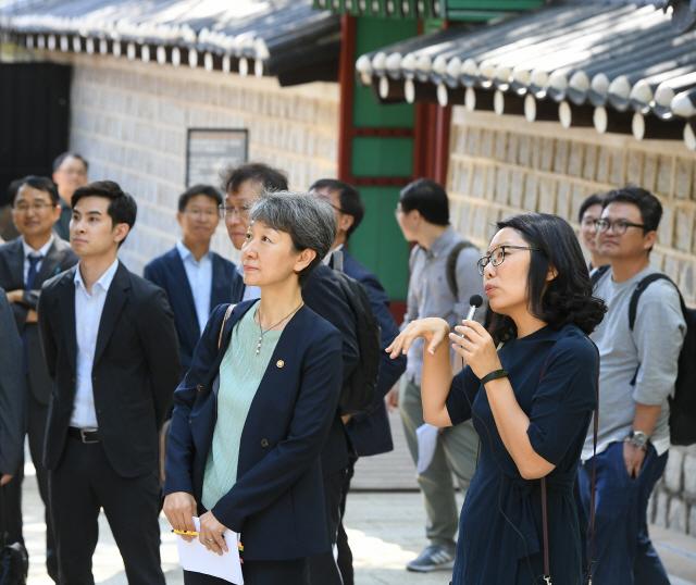 정재숙 문화재청장 '문화재 분야서 남북교류 가장 뜨거울 것'