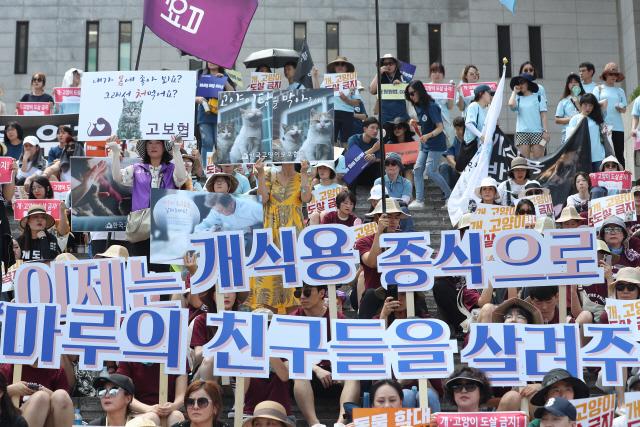 아시아에 부는 '개 식용 금지·규제' 바람