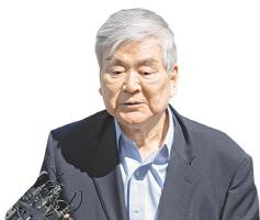 '회삿돈으로 자택경비 의혹' 조양호 회장, 경찰에 출석