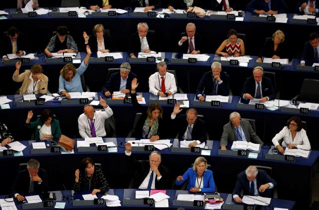 유럽의회, '헝가리 제재안' 압도적 찬성으로 통과