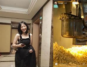 강지영, 구하라 남자친구 폭행 논란에 '팝콘' 소환된 이유는?