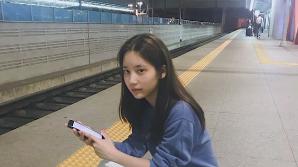 '워마드 옹호' 한서희, 근황 봤더니…눈썹을 기차역에 놔두고 왔다?