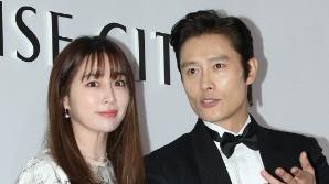 이병헌-이민정 부부 아들, 온라인에 '얼굴 도촬' 논란