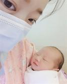 """안소미, 생후 3일 딸 최초 공개 """"서운할 정도로 아빠 붕어빵"""""""