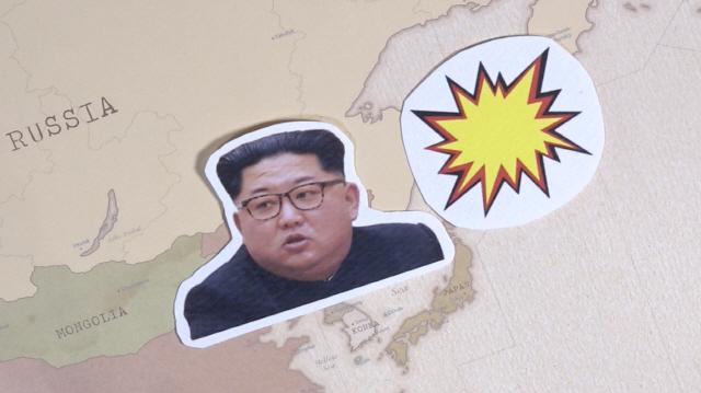 [그래픽텔링] '말폭탄' 주고받던 김정은-트럼프가 사랑에 빠진 이유는