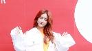우주소녀 엑시, '새콤달콤한 손인사' (2019S/S헤라서울패션위크)
