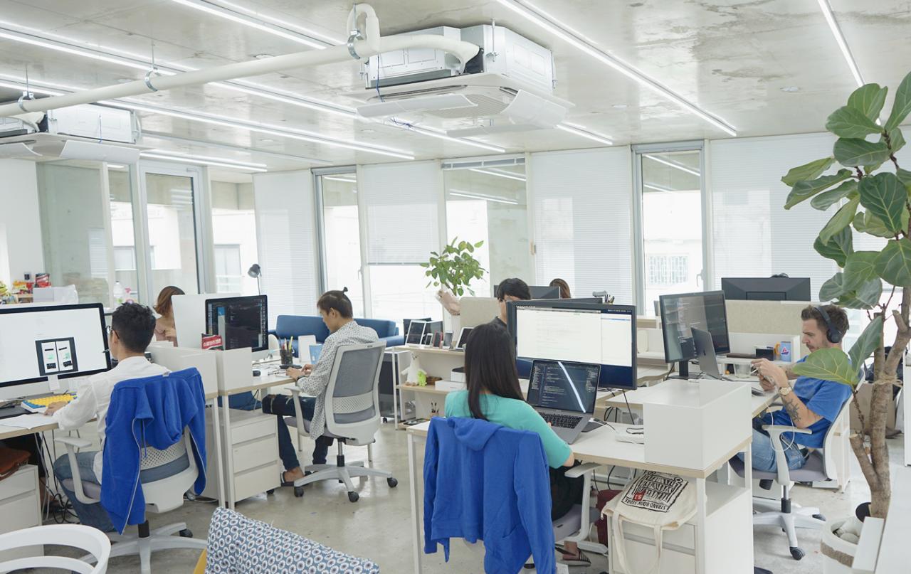 '스타트업 CEO는 직원들이 함께 일을 한다는 느낌을 주는 게 중요하죠'