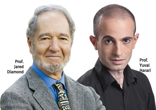 Jared Diamond & Yuval Harari talk about big history and tormorrow