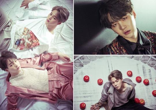 방탄소년단 슈가·지민, 정규 2집 앨범'WINGS' 두 번째 이미지 공개
