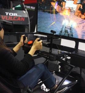 [지스타2016 VR체험기] 사막을 달리는 전투차 '배틀플래닛'