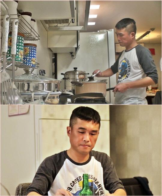 '미운우리새끼' 김건모, 호기심에 타조알 구입! 타조알로 20인분 요리법 선보인다!