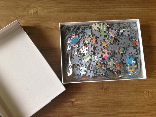 [서경씨의 #소소한_취미생활] 7성인의 퍼즐놀이
