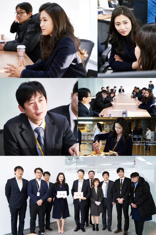 '김과장' 남상미·김원해 등, 경리부 6인방의 '일일 직장 체험'... 열의甲