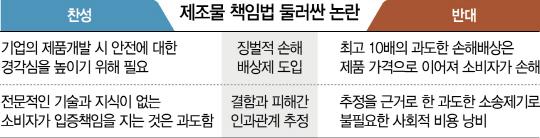 '소송 남발'vs'옥시 못봤나'...'징벌적 손배제' 앞두고 논란 가열