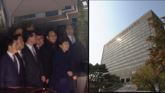 '시사매거진2580' 박 전 대통령 자택과 검찰청사 현장은?…'서초동과 삼성동'