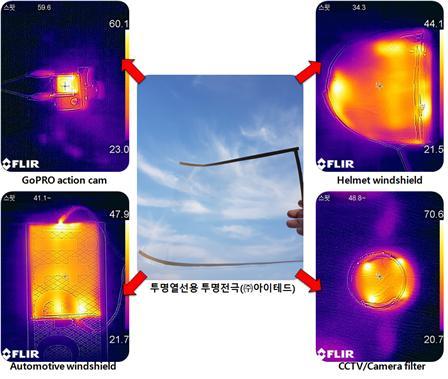 투명함으로 세상을 보다. 주식회사 아이테드의 투명열선기술