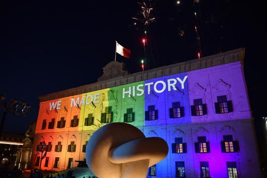 몰타서 동성결혼 합법화...유럽 국가 중 15번째