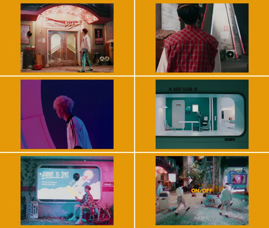'B1A4 남동생 그룹' 온앤오프, 데뷔곡 'ON/OFF' 뮤비 티저 공개