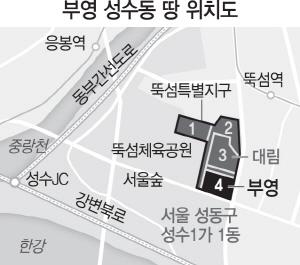 '임대' 이미지 강한 부영...'성수동 르네상스' 변수될까