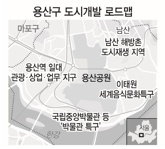 성장현 서울 용산구청장 '용산 용틀임 시작…박물관 특구 만들것'