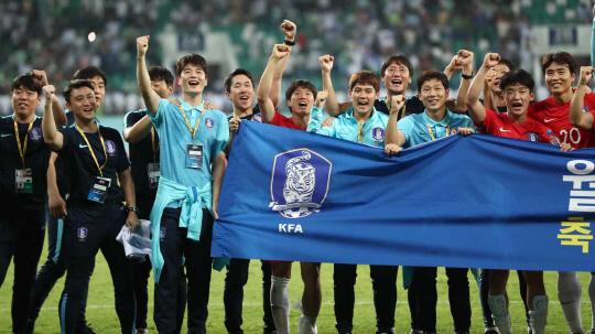 한국축구, 9회 연속 월드컵 본선 진출