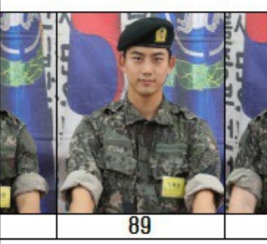 옥택연, 군 입대 후 근황 '늠름한 대한민국 군인'