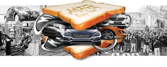 [경제교실]車산업 '샌드위치 위기' 해결책은 무엇인가요?
