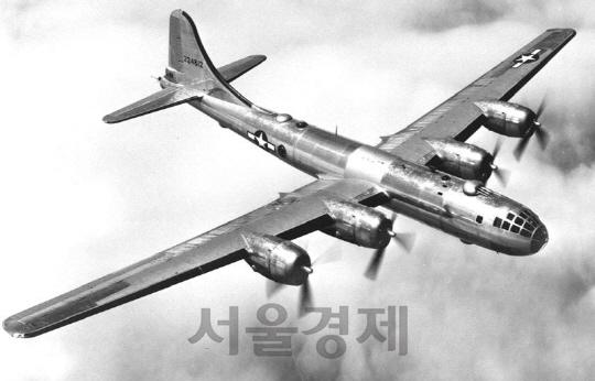 기술과 돈의 결정체, B-29 폭격기