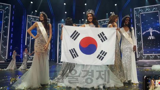 [서울경제TV] 김제니, 한국인 최초 세계 미인대회 우승