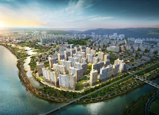 한국토지신탁, 전남 '남악 센트레빌 리버파크' 견본주택 15일 개관