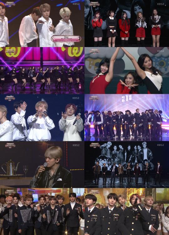 [2017 KBS 가요대축제] KPOP 대세들의 미니 콘서트…'축제' 의미 빛났다(종합)