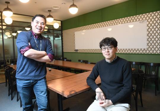 [CEO&Story]박지웅·김대일 패스트파이브 대표 '카페 분위기 공유오피스…공간뿐 아니라 서비스도 팔죠'