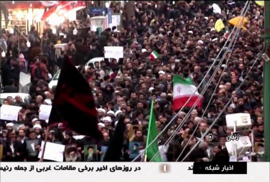 미·러 대리전으로 번지는 이란 반정부시위