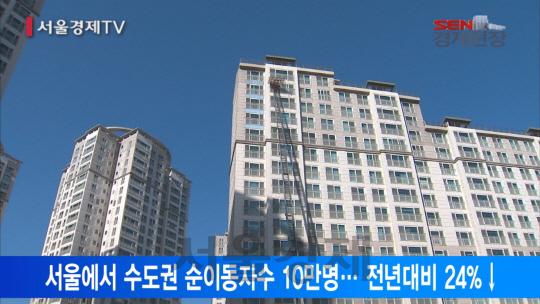 [서울경제TV] 집값 고공행진에도 탈서울 줄었다